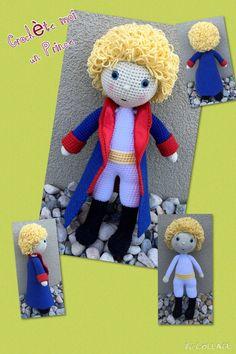 Tutoriel Le Petit Prince au crochet par CrochetemoiunPrince sur Etsy