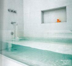 Bañera vidrio