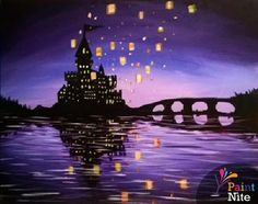 So beautiful !!!!!! Who wanna go with me? Paint Nite Philadelphia | Joes Crab Shack King of Prussia 02/02/2015