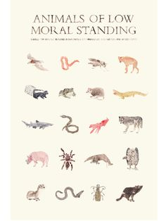 animal print by R.S. Posnak