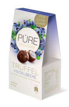 Exclusive Sugar Free Blueberry truffles