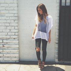 Michelle from Take Aim with the #ShoeCult Laurena Heel || Get the sandals: http://www.nastygal.com/sale-shoes/shoe-cult-laurena-heel--black?utm_source=pinterestutm_medium=smmutm_term=ngdibutm_content=the_cultutm_campaign=pinterest_nastygal