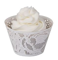 Vintage-Style Cupcake Wrappers - Set of 12 $13.00