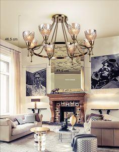 Modern Salon Avize Modeli, Modern Salon Avize ModeliÜrün Bilgisi:Ölçüsü: 77 cm x 46 cm ,Salonunuza görsel olarak ayrı bir renk katar,E14 X 8 X 60 W,Ürün malzemesi olarak cam ve me