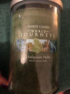 Yankee Candle Malaysian Palm  (World Journeys Collection) - Large Pillar