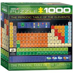 Table of the Elements Jigsaw Puzzle - 1000-Piece (Sm...