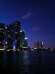 #OneMiami at night