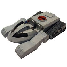 The THUNDERTANK is regarded as one of the THUNDERCATS' ultimate weapons, second only to the Sword of Omens. It is extremely versatile and maneuverable on a wide variety of terrains; and a continual wo