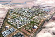 Abu Dabia Masdar City Solar energy projects