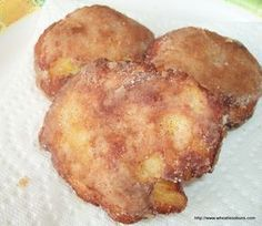 Apple Fritters ~ Gluten Free, Low Carb ~ Wheatless Buns (Holy moly!! These are GOOD!!!)