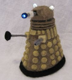 Always wanted to needle felt one of these... Needle_Felted_Dalek_by_GlassCamel