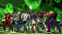 [KOF Mugen] Mr. Kyo Team (草薙京隊) VS Iori Yagami MAAB Team (八神庵隊) Street Fighter Characters, King Of Fighters