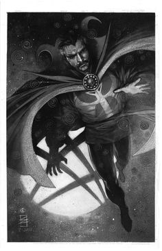 Doctor Strange by Eddy Newell