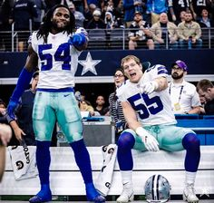 Jaylon Smith (LB) and Leighton Vander Esch (LB) Nfl Football Teams 6c62f0d47
