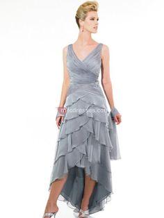 mother of the bride high low hem dresses | > Mother of the Bride Dresses > High-low Mother Of The Bride Dress ...