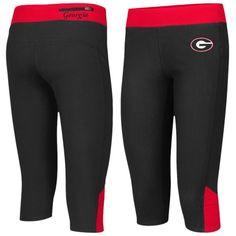 Georgia Bulldogs Colosseum Women's Winder Leggings - Black