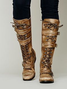 Kantell Lace Up Boot