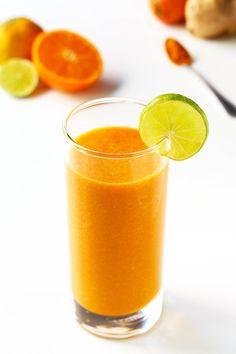 Immune Boosting Citrus Carrot Smoothie