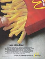 McDonald's French Fries 1980 Ad Restaurant Ad, Fast Food Restaurant, Vintage Advertisements, Vintage Ads, Vintage Food, Mcdonald French Fries, Mcdonalds Fast Food, Coconut Peanut Butter, Food Advertising
