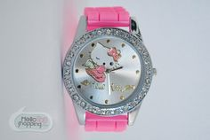 Hello Kitty Reloj Rosa Angel de Caucho $390.00