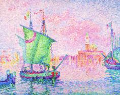 Paul Signac | Venedig, die rosa Wolke - Venice, The Pink Cloud | 1909 | © Albertina, Wien - Sammlung Batliner #SeuratSignacVanGogh