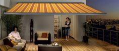 Our Lite awning is a semi-cassette awning with built-in LED lights. Ideal for summer evenings on the patio or deck. Images Photos, Pictures, Outdoor Rooms, Outdoor Decor, Patio Enclosures, Roof Styles, St Albans, Backyard Pergola, Flat Roof