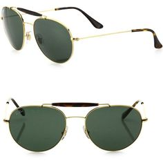 Ray-Ban Phantos Sunglasses (195950 IQD) ❤ liked on Polyvore featuring men's fashion, men's accessories, men's eyewear, men's sunglasses, apparel & accessories, green and ray ban mens sunglasses