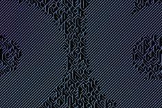 Creative Coded Counter | CCC by Martijn van den Bergh, via Behance