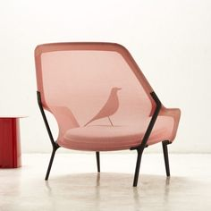 """by Marcus Fairs  Slow chair designed for Vitra,  """"lightweight, well done and comfortable""""."""