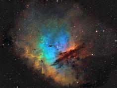 "NGC 281, the ""Pac-Man Nebula"""