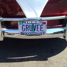 Cool license plate!