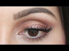 ▶ Urban Decay Naked 3 Tutorial: Fresh Spring Makeup - YouTube