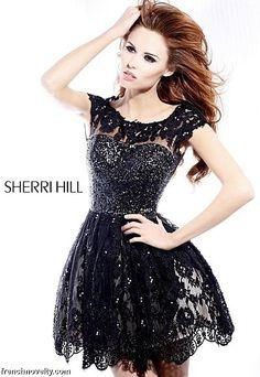 $698 Sherri Hill Dress 2957 at frenchnovelty.com