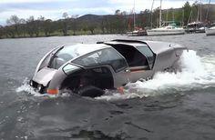 Scamander High-Speed Amphibious All-Terrain Vehicle [Video]