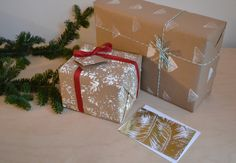 Simple Steps to Customized Holiday Wrapping Paper
