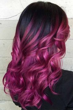 96 Wonderful Purple Hair Color Styles for 40 Versatile Ideas Of Purple Highlights for Blonde Brown, 50 Cosmic Dark Purple Hair Hues for the New Image, 120 Outstanding Purple Hair that Gives You A Splendiferous, 50 Dark Purple Hair Color Ideas. Dark Purple Hair Color, Black Hair Ombre, Hair Color 2018, Purple Highlights, Ombre Hair Color, Hair Highlights, Red Hair, Purple Ombre, Peekaboo Highlights