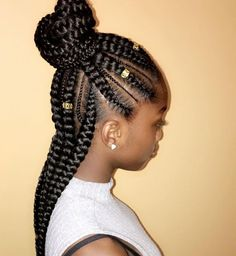 Top 60 All the Rage Looks with Long Box Braids - Hairstyles Trends Box Braids Hairstyles, Braids Hairstyles Pictures, Braided Ponytail Hairstyles, Braided Hairstyles For Black Women, African Hairstyles, Girl Hairstyles, Teenage Hairstyles, Hairstyles Videos, Hair Updo