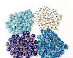 Perlas pulsera turco ojo magico Nazat Evil Eye Mavi boncuk boncugu
