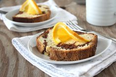 orange scented marble pound cake whatever that means food more marble ...