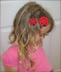 Ladybug Hair Pretties In the Hoop - Who doesn't love lady bugs? These ladybug hair pretties are so easy and made entirely in the hoop! And due to popular demand, they now come in 2 different sizes for the 4x4 hoop! The regular size and the bitty size for baby are both included! All of our Hair Pretties designs are made 100% in-the-hoop, making them a quick, easy and FUN project! Once you stitch out your first Hair Pretties design from Pickle Pie Designs, you'll be hooked! Our Hair Pretties a...