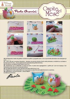 STEP BY STEP COUPLE OF owls PART N°2