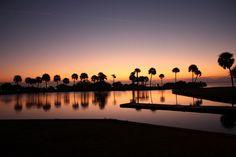 sunrise at Kelly Park, Merritt Island, Florida