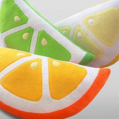 Citrus Decorative Pillows