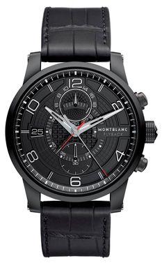 Montblanc TimeWalker TwinFly Chronograph Black Titanium Limited Edition