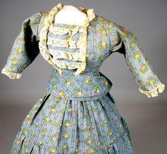 French Fashion Doll Dress ~ Small Print