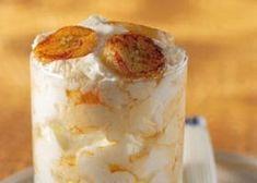 Yoghurtmousse met banaan en esdoornsiroop Biscuit Speculoos, Dessert Mousse, Avocado Mousse, Mets, Ice Cream, Sweet, Desserts, Recipes, Food