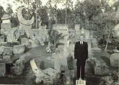 In the town of Homestead, Florida, there is an enormous network of megalithic structures collectively called Coral Castle. Coral Castle was once the home of Edward Leedskalnin and is comprised of … John Von Neumann, Mysteries Of The World, Greatest Mysteries, Howard Hughes, Unexplained Mysteries, Ancient Mysteries, Nikola Tesla, Ancient Aliens, Ancient History