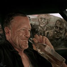 44 Amazing Examples of The Walking Dead Fan Art - Wallpapers and Artworks