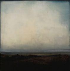 Dan Gualdoni, Coastal Redux #61. 2010 (mixed media on panel)