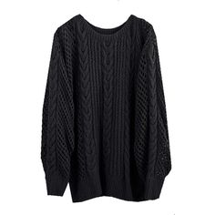 BLACK FISHERMAN SWEATER (€580) ❤ liked on Polyvore featuring tops, sweaters, shirts, jackets, cashmere shirt, aran fisherman sweater, cashmere fisherman sweater, fisherman sweater and aran sweaters